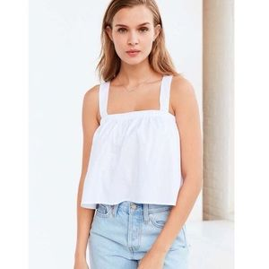 Urban Outfitters Kimchi Blue Tie-Back Crop Tank
